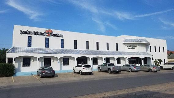 Padre Island Rentals Building